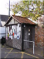 TM3877 : Disabled Toilets in Halesworth Car Park by Adrian Cable