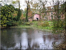 TG2202 : The pond by Common Farm, Dunston by Evelyn Simak