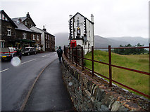 NY3915 : A grey day in Patterdale village by Karl and Ali