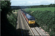 SW7545 : Mail train between Chacewater and Truro by roger geach