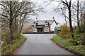NM8725 : House at the road junction at Kilmore by Steven Brown