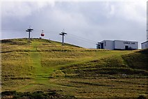 SH7683 : Cable car on the Great Orme by Steve Daniels