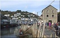 SX2553 : Looe Harbour by Rob Farrow