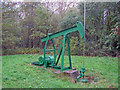 SK6760 : Oil well in Duke's Wood - 2 by Trevor Rickard