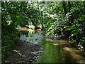 SJ5006 : Cound Brook near Condover by Stephen Richards