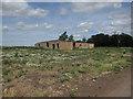 TL4078 : Old dairy sheds by Hugh Venables
