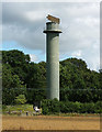 SJ5423 : Radar tower near Acton Reynald by Stephen Richards
