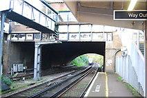 TQ7768 : Bridge, Gillingham Station by N Chadwick