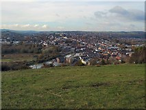 TQ4210 : Looking down on Lewes by Paul Gillett