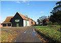 TM2585 : Burntoak Lane past The Grange by Evelyn Simak