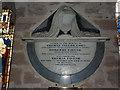 NU2229 : St Ebba Church, Beadnell, Memorial by Alexander P Kapp