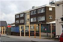 TQ3266 : Metropolitan Police Unit, Windmill Road, Croydon (2) by Peter Trimming