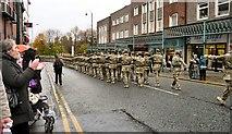 SJ9495 : Mercians march on Market Street by Gerald England