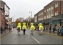 SJ9495 : Marching down Market Street by Gerald England