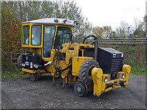 TA0623 : Geismar Track Machine at Barrow Haven Station by David Wright