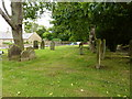 NU2415 : The Parish Church of St Peter and St Paul, Longhoughton, Graveyard by Alexander P Kapp