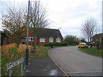 SP4476 : Fitzalan Close, Church Lawford by Alex McGregor