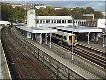 TR3141 : Dover Priory railway station by Malc McDonald