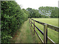 TL6958 : Footpath around Upend Green by Hugh Venables