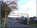 TQ1689 : Car park entrance, Harrow Leisure Centre by Malc McDonald