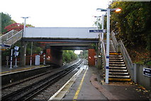 TQ5359 : Footbridge at Otford Station by N Chadwick