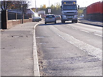 SO9596 : Vulcan Road Traffic by Gordon Griffiths