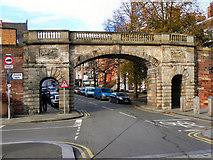 SJ4065 : Bridge Gate, Chester by David Dixon