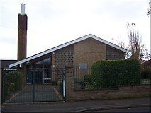 SK3336 : Jesus Christ Of Latter-Day Saints, Mackworth by Geoff Pick
