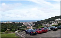 SN5981 : View towards Aberystwyth from the National Library of Wales by Andrew King