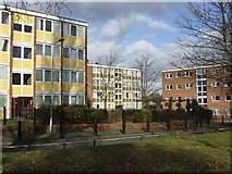 SO9199 : Council Housing - Cannock Road by John M