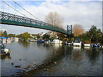 TQ1667 : River Thames at Thames Ditton by Stacey Harris