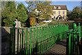 ST5477 : Footbridge over Kings Weston Road by Stephen McKay