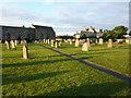 NU1734 : St Aidan's Church, Bamburgh, Graveyard by Alexander P Kapp