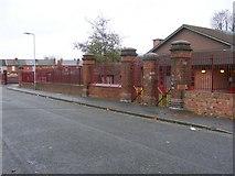 SO9596 : Fraser Street Railings by Gordon Griffiths
