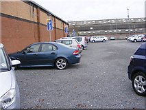 SO9596 : Autosales Parking by Gordon Griffiths