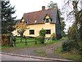 TM1092 : Cottage in Carleton Rode by Evelyn Simak