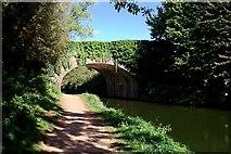 SS9712 : Tidcombe Bridge by Tony Atkin