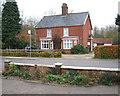 TM1193 : House opposite the Post Office in Bunwell by Evelyn Simak