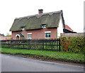TM1193 : Burton's Farm, Bunwell by Evelyn Simak