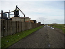 NZ5625 : Road to South Gare by Chris Heaton