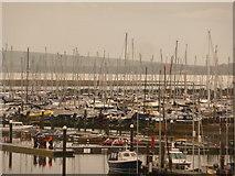 SZ3394 : Lymington: a mass of masts by Chris Downer