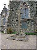 SD5095 : St Oswald's Church, Burneside, War Memorial by Alexander P Kapp