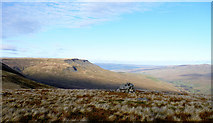 SD7695 : Cairn on Swarth Fell Pike by Andy Waddington