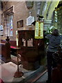 SE3950 : All Saints Church, Kirk Deighton, Pulpit by Alexander P Kapp
