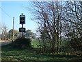 TF8830 : Sign for Sculthorpe Mill near Fakenham, Norfolk by Richard Humphrey