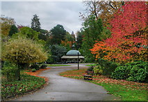 SE2955 : The Valley Gardens, Harrogate by David Rogers