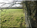 ST5858 : Field edge boundary on Burledge Common by Dr Duncan Pepper