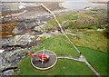 NM1596 : Helipad at Hyskeir lighthouse by Jim Barton