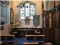 TQ3864 : St John the Baptist, West Wickham: side chapel by Stephen Craven