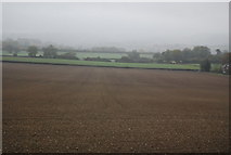 TQ5959 : Fallow field at the base of the North Downs by N Chadwick